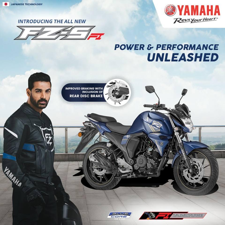 New Yamaha FZ-S Rear Disc Price in Sri Lanka 2018