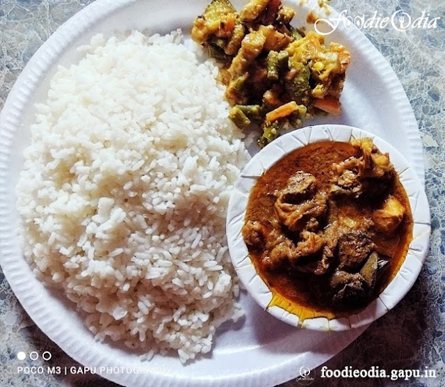 Desi Style Chicken Curry prepared by Sangram Keshari Senapati