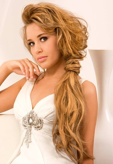 Romantic side ponytail long hair | The Hairs