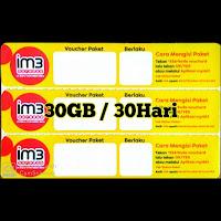 Data Im3 30GB/30HARI
