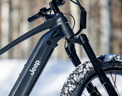 Jeep recently launched its new electric mountain bike Quietkat.