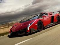 Lamborghini Veneno Roadster USD $5.6 Million Most Expensive Car