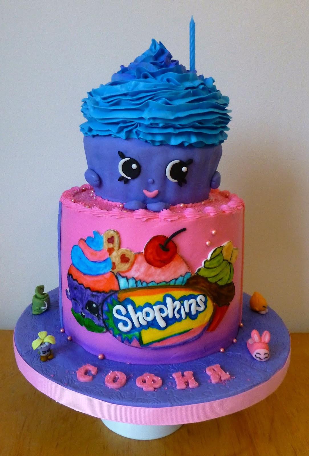 Cakesophia Shopkins Cake