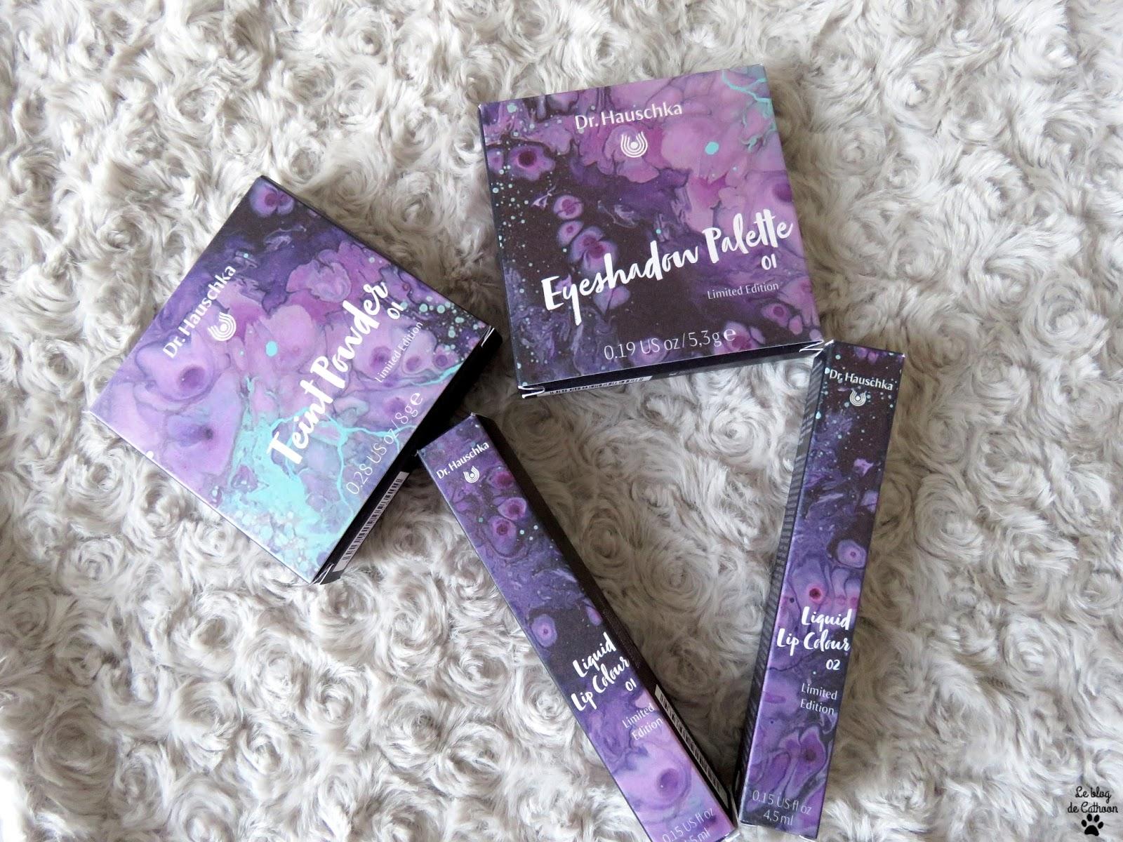 Purple Light, collection limitée printemps 2018 de Dr Hauschka