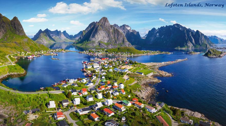 The Beautiful Lofoten Islands of Norway