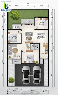 Floor Plan Tipe 85 Rumah Diskon 100 Juta Hanya Untuk 3 Unit Pertama Di Cluster Sayana