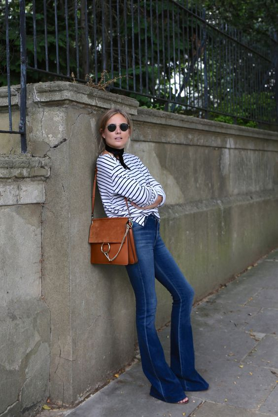 Lucy Fashion Me Now - Chloe Faye Bag + Citizens Flare Jeans