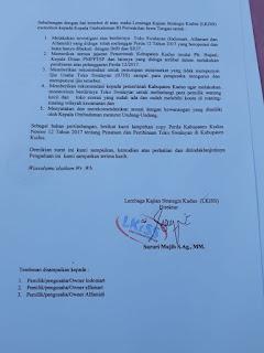 Surat Aduan LKISS ke Ombudsman RI Jateng