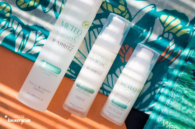 Meteo Logic Hydratation Priming Serum / Moisturizing & Booster Active Serum, Hydratation Day Cream/ Moisturizing Face Cream,Cleansing Micellar Water/ Gesichtswasser