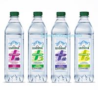 """Logo Levissima """" Soddisfatti o rimborsati """" fino a un massimo di 4 bottiglie"""