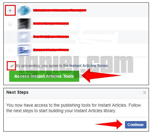 Cara Aktifkan Instant Articles Facebook