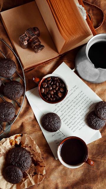 Hd Wallpaper Cup, Coffee, Cookies, Chocolate