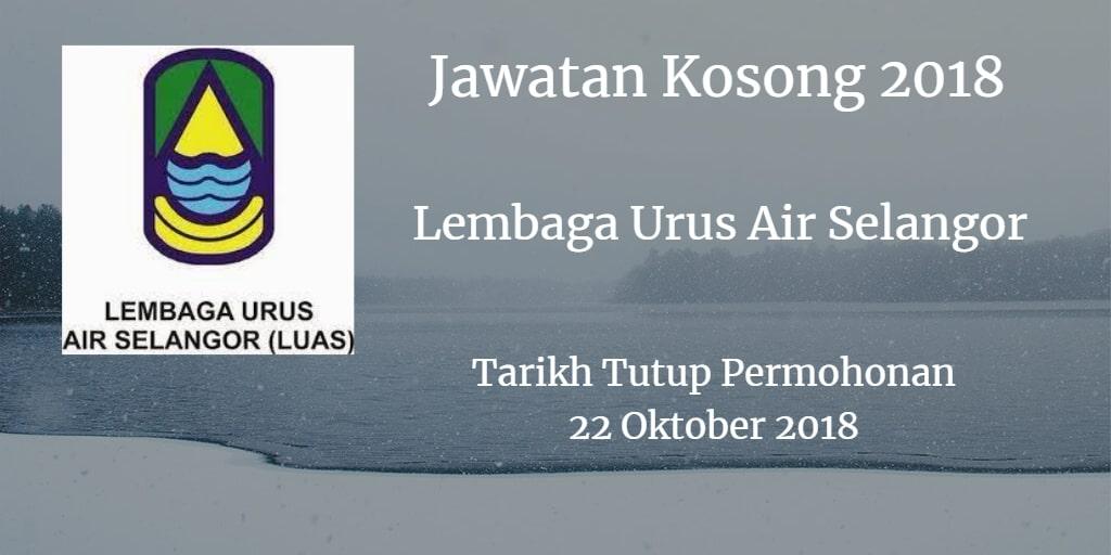 Jawatan Kosong LUAS 22 Oktober 2018