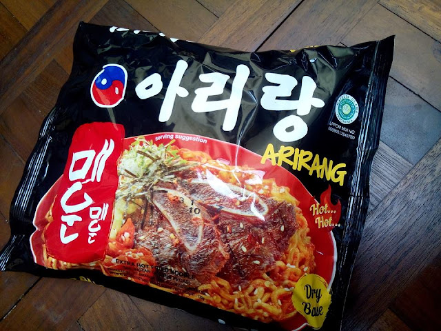 korean noodle arirang hot hot
