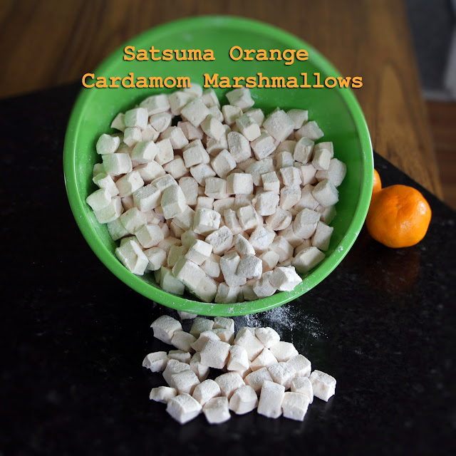 Cardamom Dusted Satsuma Mini-Marshmallows