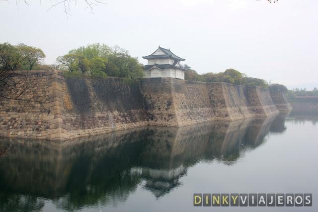 Foso del Castillo de Osaka
