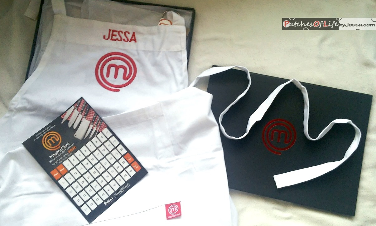 Masterchef apron (white) official merchandise - Complete Your Masterchef Look With This Official Masterchef Apron
