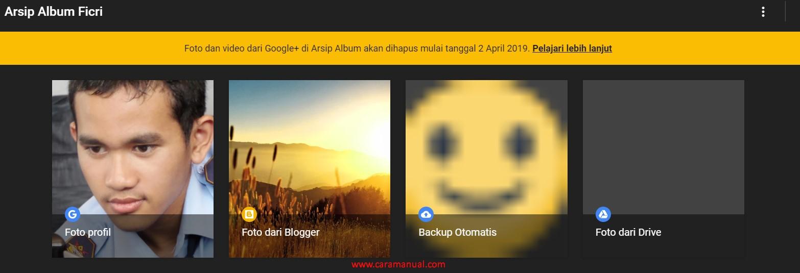 Arsip Album Google