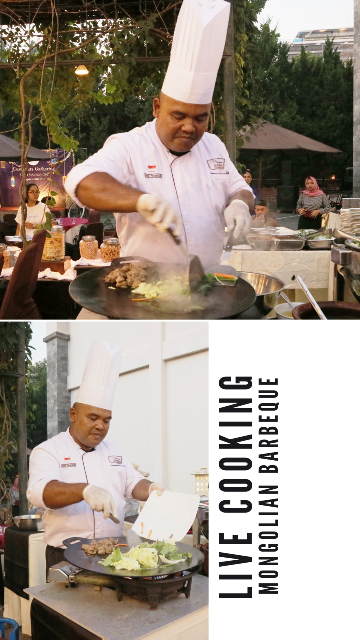 Live Cooking Mongolian Barbeque