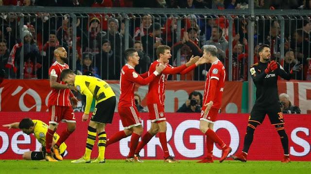 DFB-Pokal: Bayern Depak Dortmund