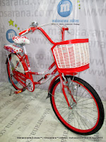 samping exotic et9788 mini 24 inci city bike