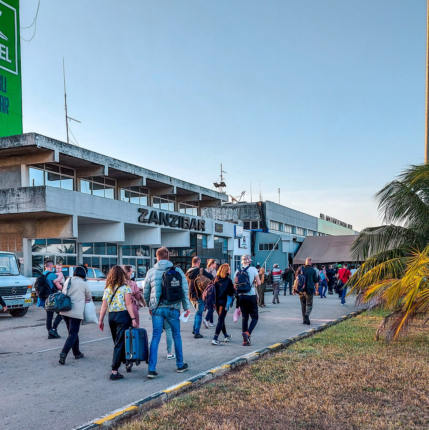 Jak wygląda lotnisko na Zanzibarze?