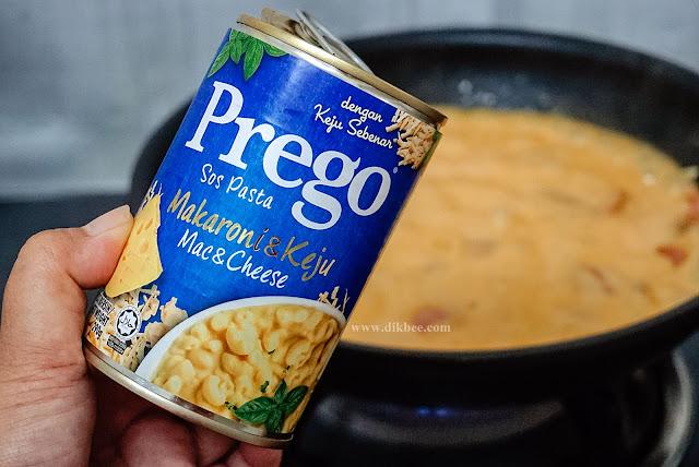 Prego Sos Pasta Makaroni dan Keju Sedap Dan Mudah Disediakan