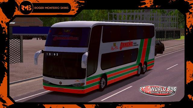 Ormeño, Skins World Bus Driving Simulator