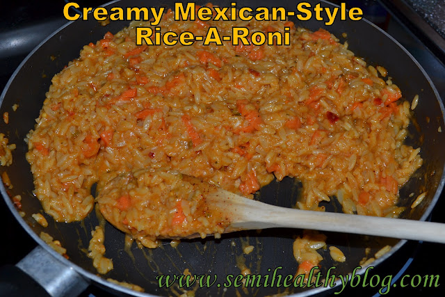 creamy Mexican style Rice-A-Roni
