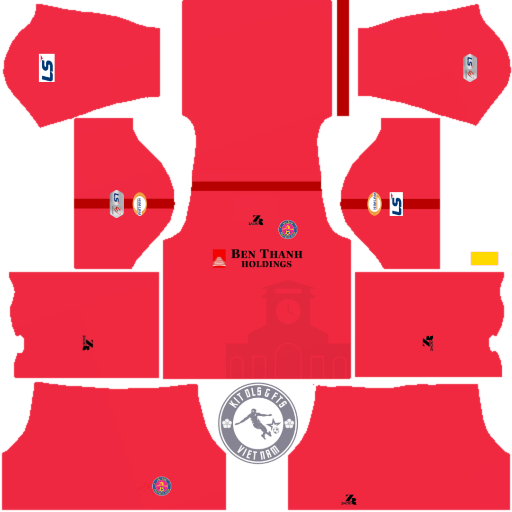 Kits Sài Gòn Football Club 2020 - Dream League Soccer 2019 & First Touch Soccer