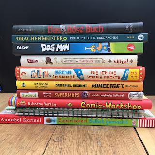 Bücher für Jungs - Buchempfehlungen auf Kinderbuchblog Familienbücherei - Kinderbuchtipps