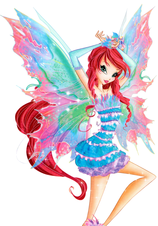 Imágenes PNG Bloom y Flora Mythix Couture - Winx Club All