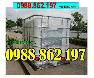 Tank nhựa cũ,bồn nhựa đựng nước,tank đựng hóa chất,thùng nhựa 1000l,tank IBC, tank nhựa Hà Nội