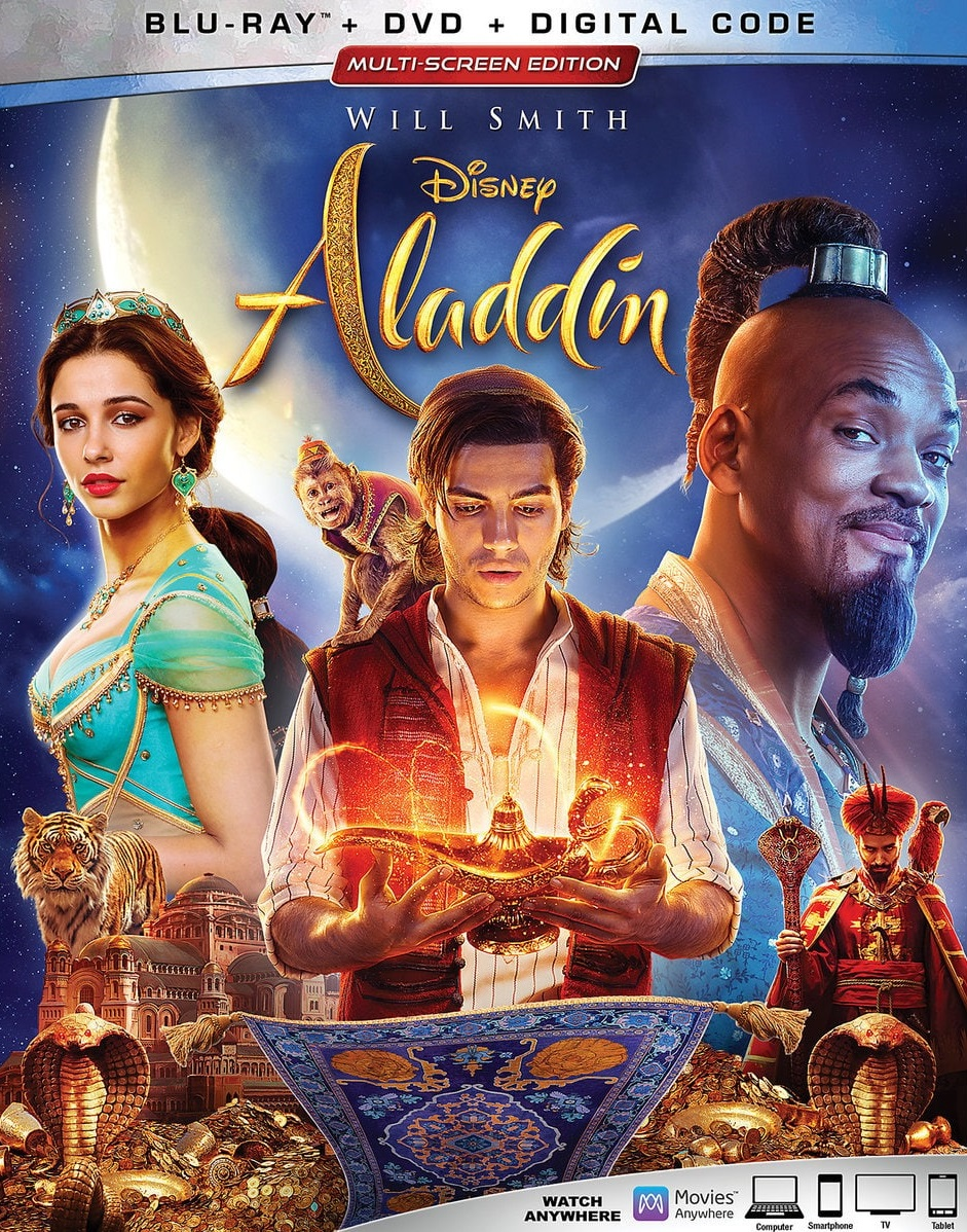 Descargar Aladdin Cover Caratula Blu-ray
