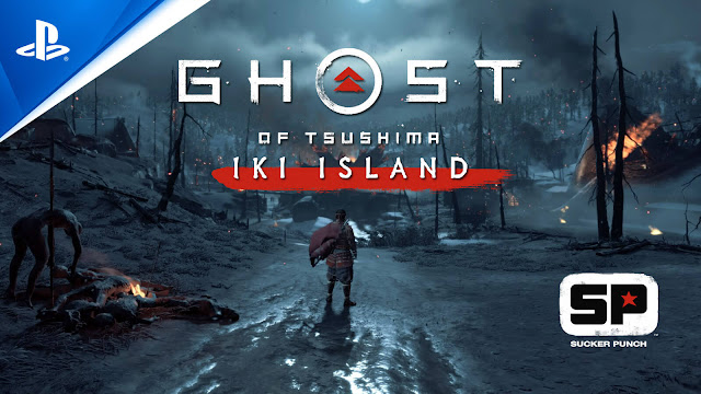 ghost of ikishima iki island expansion dlc story trailer ps4 ps5 2021 mini sequel cross-gen release jin sakai action adventure sucker punch productions sony entertainment interactive