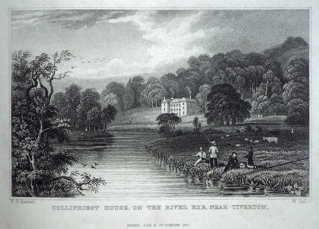 Illustration of Collipriest House (1832)