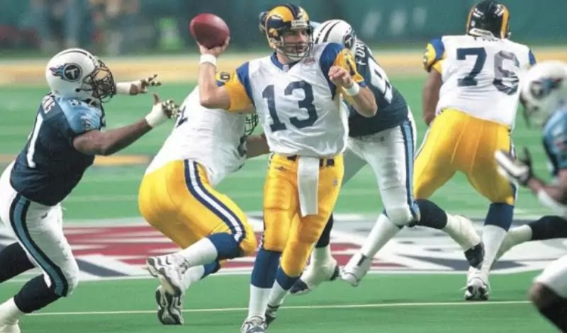 Kurt Warner was named MVP of the 1999 season and was a champion in Super Bowl XXXIV.