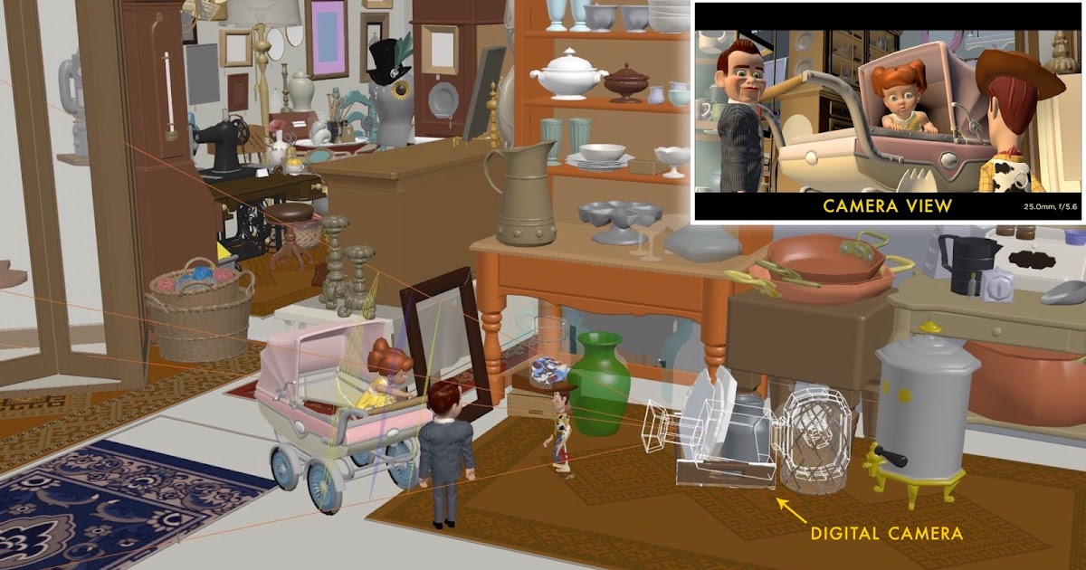 Designing the Antique Mall in Toy Story 4  AI Spiders