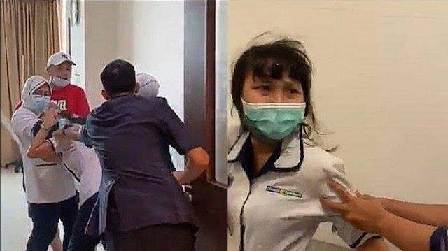Gara-Gara Cabut Selang Infus, Keluarga Pasien Aniaya Perawat di Palembang