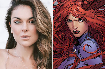 "SERINDA SWAN CAST IN ""MARVEL'S INHUMANS"""