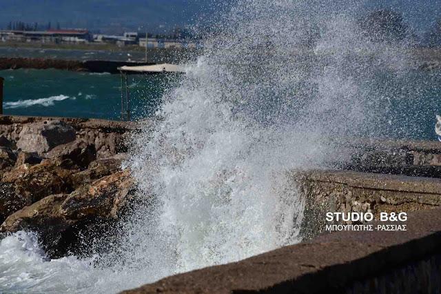 Λιμεναρχείο Ναυπλίου: Συνεχίζουν οι θυελλώδεις βορειοδυτικοί άνεμοι