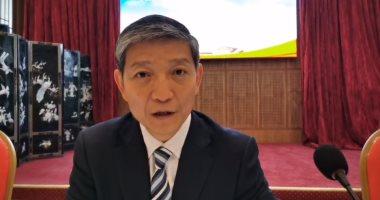 السفير الصيني في مؤتمر صحفي:  'العلاقات المصرية الصينية نموذجا يحتذي علي كافة المستويات