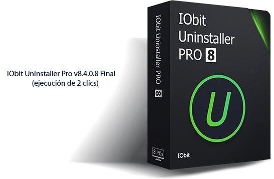 Obit Uninstaller Pro v8.4.0.8 Final (ejecución de 2 clics)