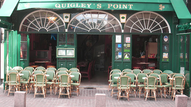 Cervejaria Quigley's Point em Les Halles em Paris