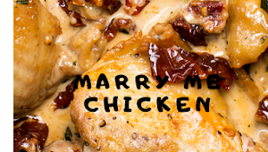 MARRY ME CHICKEN #Dinner #Healthyrecipes