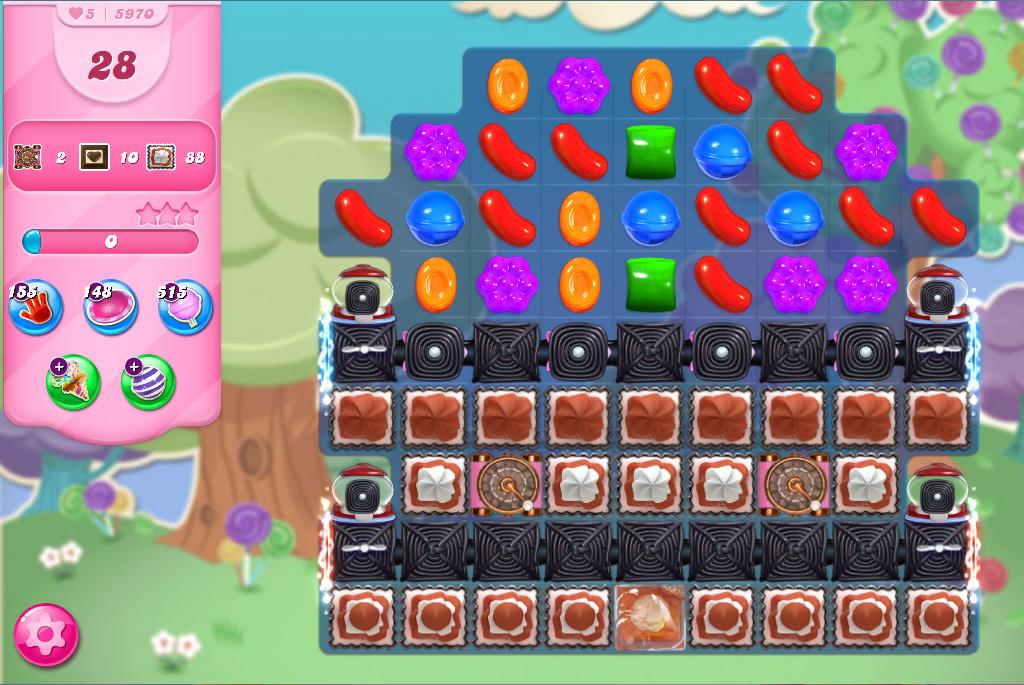 Candy Crush Saga level 5970