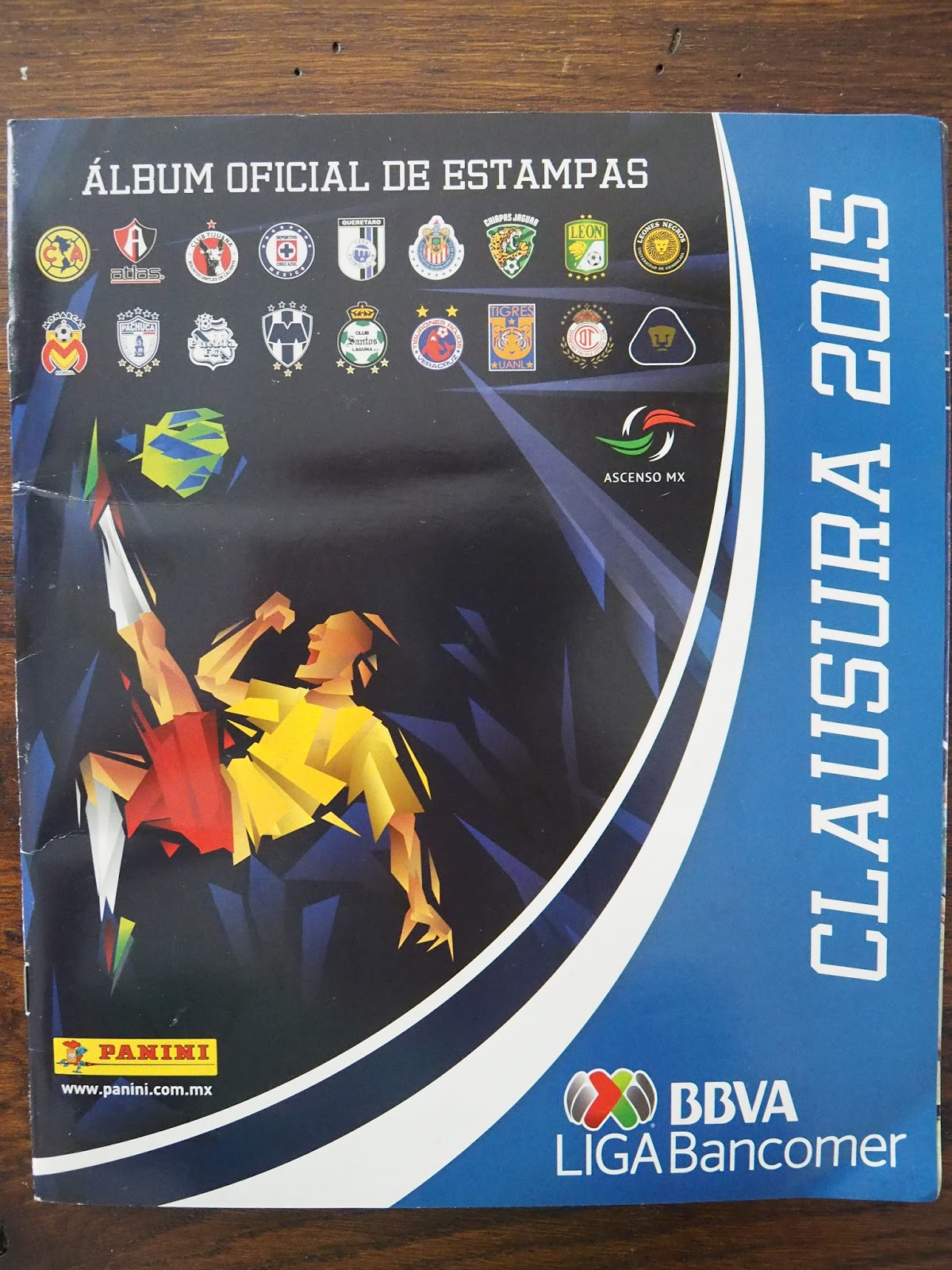 Only Good Stickers: Panini Clausura 2015 - Mexico