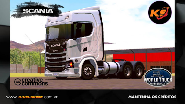 SCANIA S730 - THE FLYING GRIFFIN WHITE