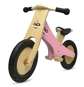 Kinderfeets Pink Chalkboard Wooden Balance Bike Review