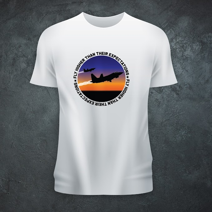 Aircraft Nerds Fly Higher Unisex T-shirt